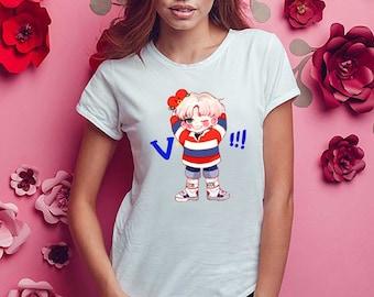 Kpop BTS V Women T Shirt