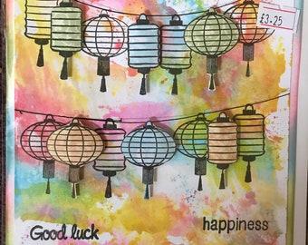Good Luck Lanterns