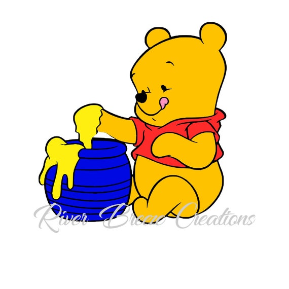 d7dc14e3d9e7 Pooh Bear Svg Baby Pooh Bear Svg Winnie the Pooh Svg Honey