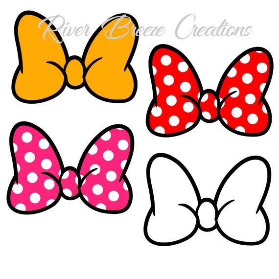 Minnie Mouse Bow Svg Minnie Bow Svg Minnie Svg file Disney | Etsy