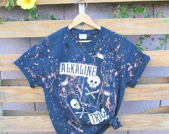 2696610cdd Alkaline Trio Band Tee Shirt Rock Distressed Concert Tshirt