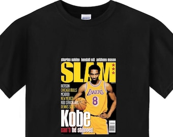 6793de9c Kobe Bryant Slam Cover T shirt (SHORT & LONG SLEEVE)