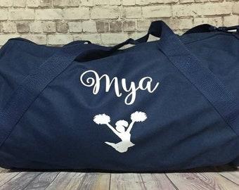 Personalized sports duffle bag with name wedding bag karate soccer bag  dance bag sports bag ballet bag cheer bag e2c6daa594011