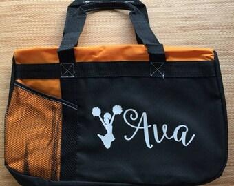 Personalized soccer duffle bag with name wedding bag karate soccer bag  dance bag sports bag ballet bag cheer bag cheerleader duffle bag 49975cb85b5b2
