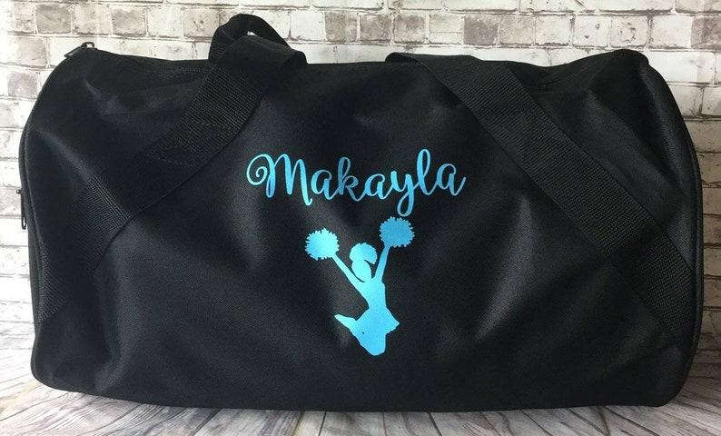 51c2dd55c4 Personalized sports duffle bag with name wedding bag karate soccer bag  dance bag... Personalized sports duffle bag with name wedding bag karate  soccer bag ...