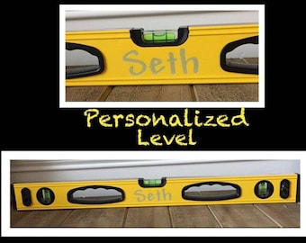 """Personalized engraved fathers day Level grandpa gift worlds best dad level 24"""""""