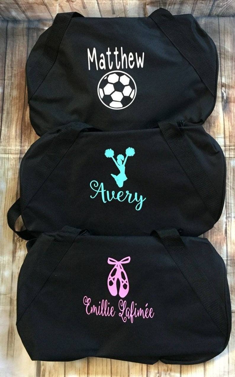 3fad18fdc2 Personalized sports duffle bag with name wedding bag karate