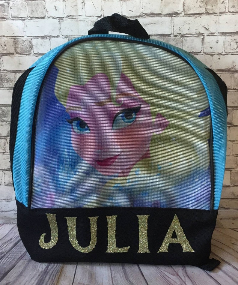 b6c96d6b629 Personalized frozen backpack mini 10 Disney Elsa school