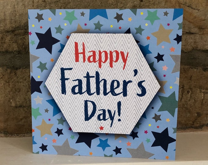 Featured listing image: Happy Father's Day card