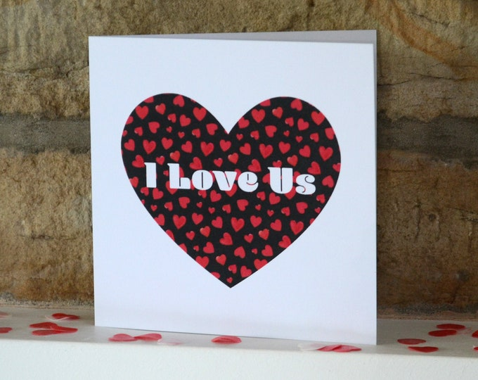 Featured listing image: I Love Us card