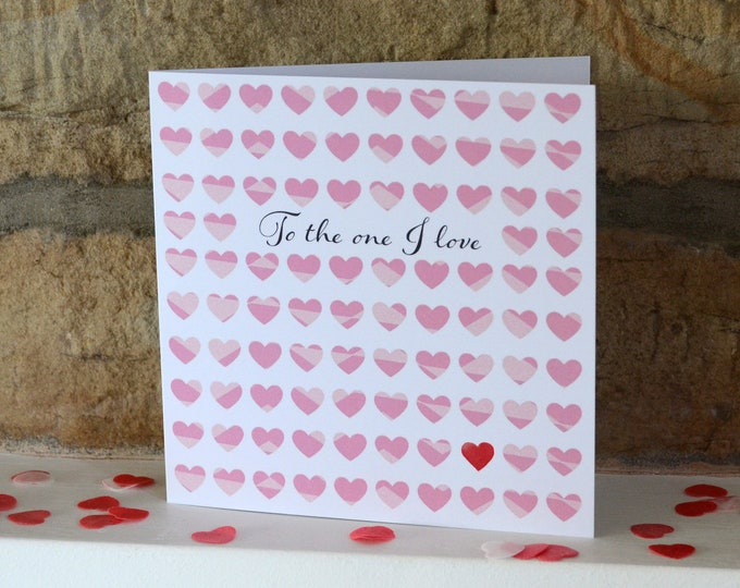 Featured listing image: To the one I Love card