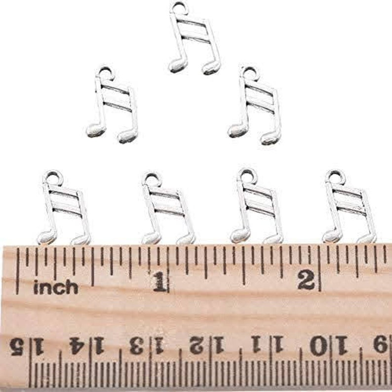 music note charm only jewelry gift customizable