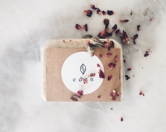 Sweet almond, milk and oats soap