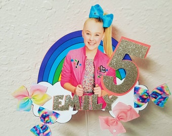 JOJO SIWA Customized Cake Topper For Birthday Party