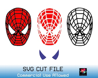 spiderman birthday svg etsy