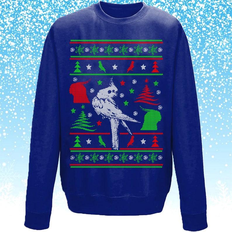 18d988c8c874 Cockatiel Christmas Jumper Xmas Jumper Xmas Sweater Ugly