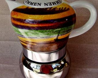Coffee, tea, cooker, Vitage, vintage