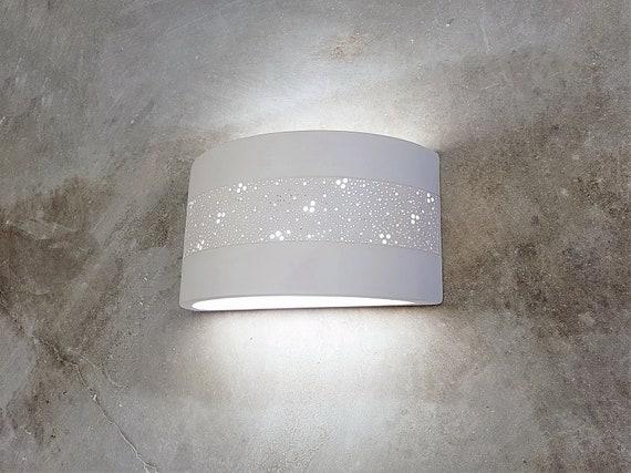 Decorative Light Wall Fixture Ceramic Wall Lamp Shadewall Etsy