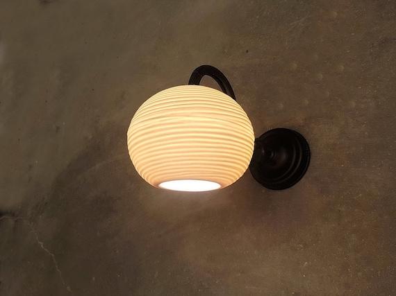 Wall Light, porcelain lamp shade , wall Sconce, Living room wall lamp  ,bedroom wall light , beach house wall light, Wall fixture
