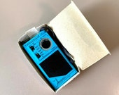 Vintage Soviet Olympic-402 Олимпик-402 Portable SW MW Radio, Working USSR Blue New in Box, Audiophile, Pocket Radio
