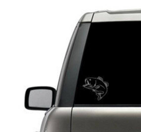 Fishing Custom Decal Sticker-Car//Truck  Window Mirror