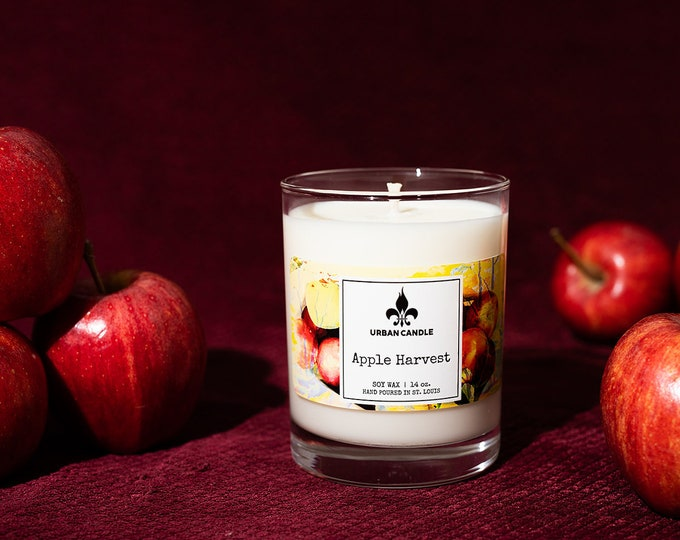 Apple Harvest Soy Candle | Fall | 14 oz.