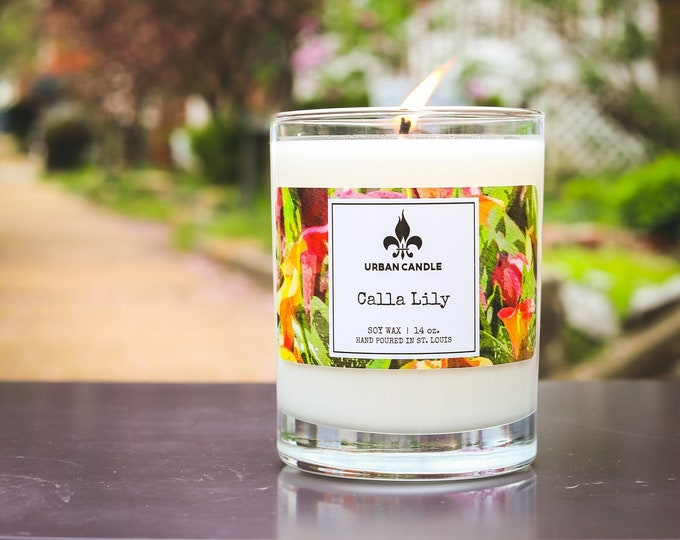 Calla Lily - Soy Candle | 14 oz.