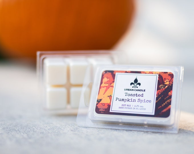 Toasted Pumpkin Spice Wax Melts | Fall Scent