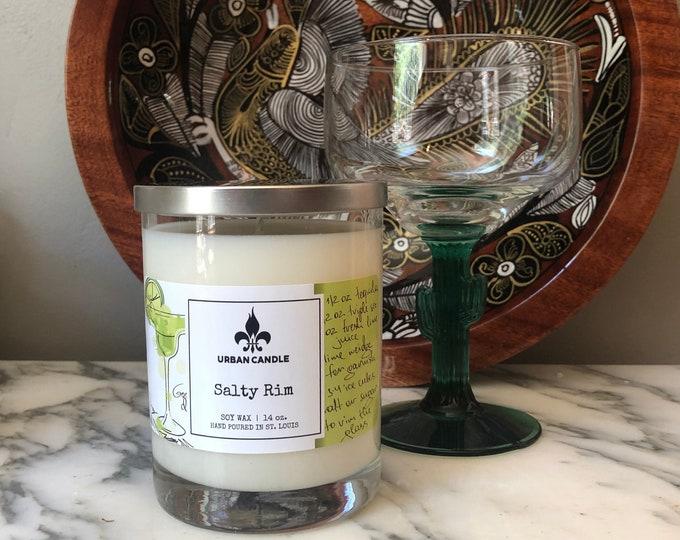 Salty Rim Margarita Soy Candle | 14 oz