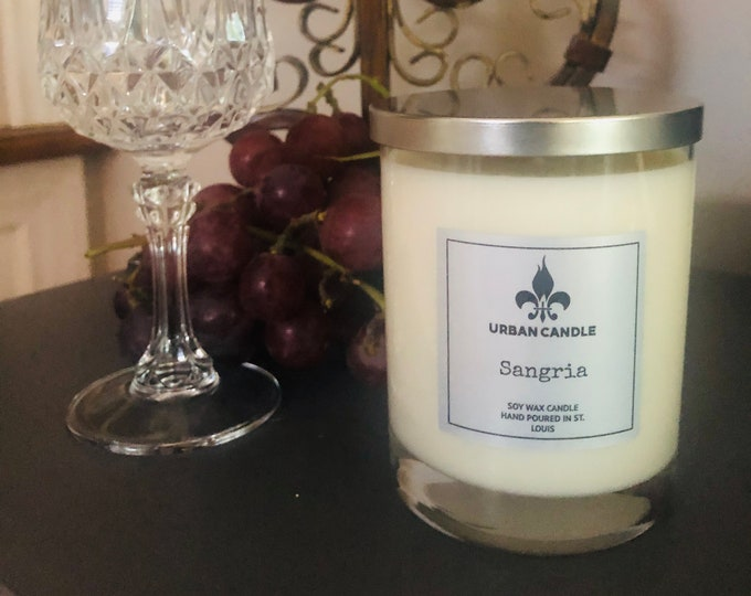 Sangria Soy Candle | 14 oz