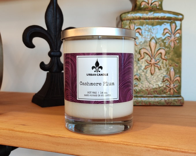 Cashmere Plum - Soy Candle | 14 oz.