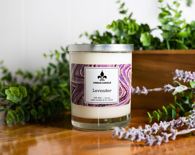 Lavender Soy Candle | 14 oz.