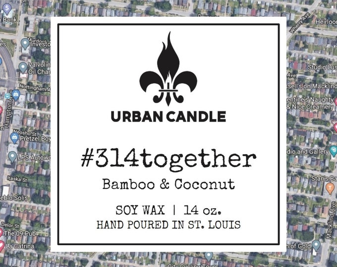 314together Bamboo & Coconut Soy Candle | 14 oz