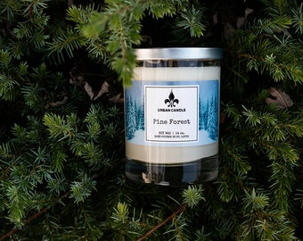 Pine Forest - Soy Candle   14 oz.