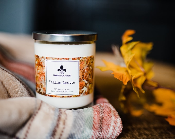 Fallen Leaves Soy Candle | Fall | 14 oz