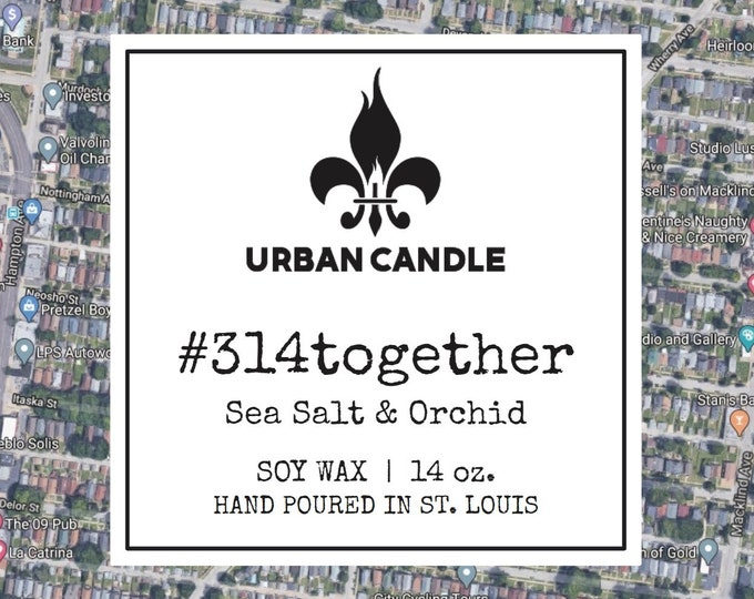 314together Sea Salt & Orchid Soy Candle | 14 oz