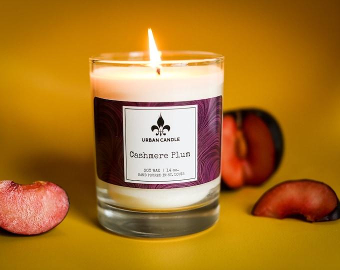 Cashmere Plum - Soy Candle | 14 oz.