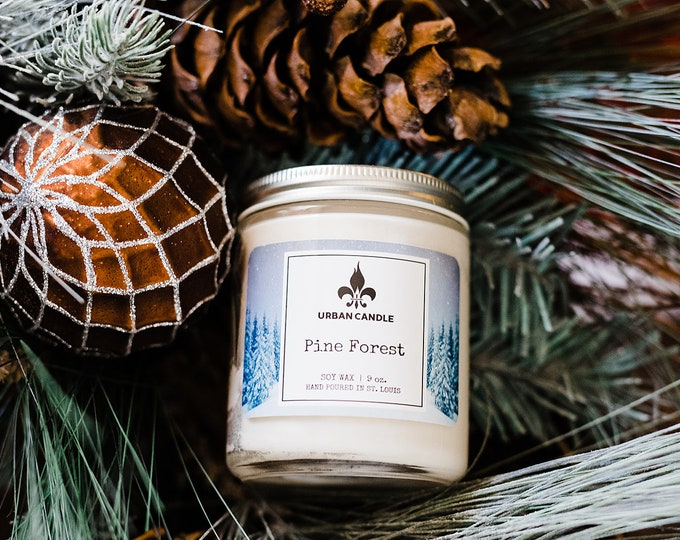 Pine Forest - Holiday - Soy Candle | 9 oz.