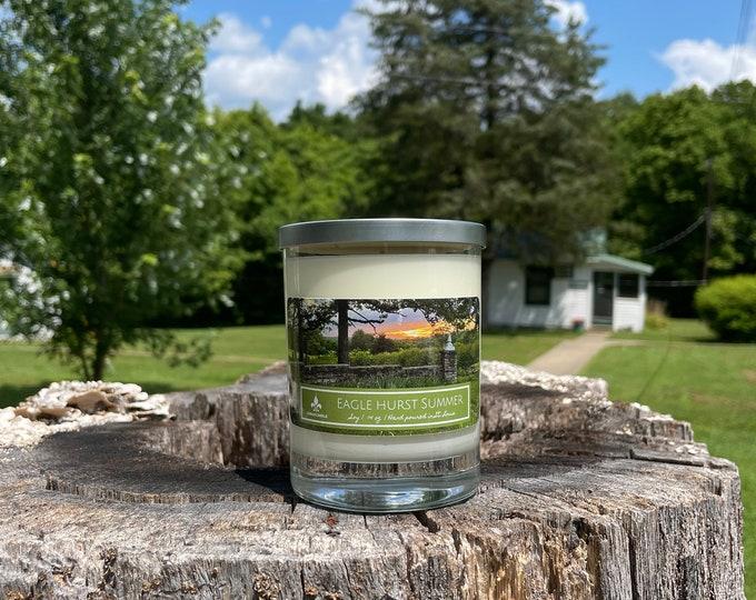 Eaglehurst Summer | Lemon Verbena | Soy Candle | 14 oz