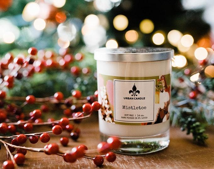 Mistletoe - Holiday - Soy Candle | 14 oz.