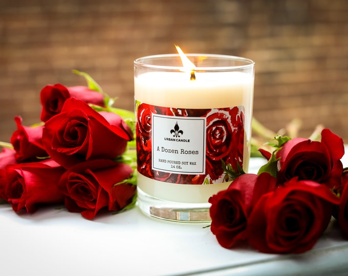 A Dozen Roses - Soy Candle | 14 oz.