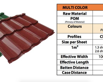 MULTI Metallic Roof