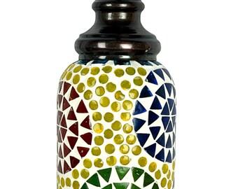 New Vintage Round Floral Multicolor Ceiling Pendant Lamp Light