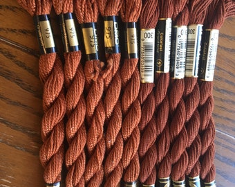 Bundle 133 DMC Perle Cotton size 3