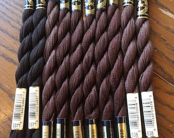 Bundle #96 DMC Perle Cotton size 5