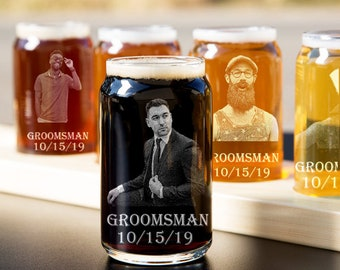 Personalized Groomsmen Gift Wooden Beer Mug Best Man Wood Beer Mugs Engraved K12