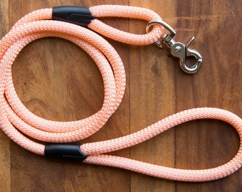 Peach dog leash for small and big dogs/dog leads/dog leash/