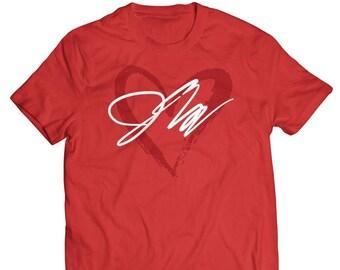 Jake Paul inspired heartbreakers logo tshirt