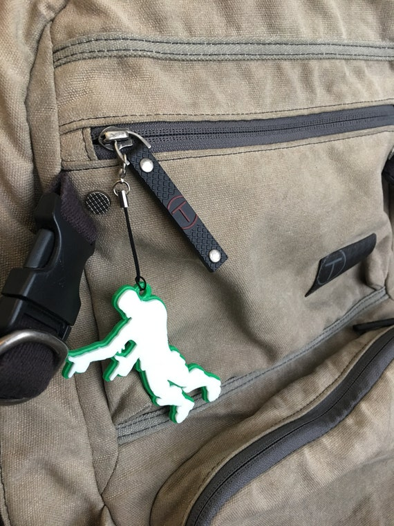 Doigt canons sac tag, premier jour de l'école, étiquette sac à dos pour l'école, clés, porte-clés, cadeau de professeur, sac à dos accessoires, cadeaux de moins de 20