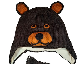 Turtle Hat Winter Hat Knit Animal Hat Adults Hat Winter Beanie Hat for Toddlers Boys or Girls Stretchy Hat |Photo Prop